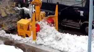 Clearing Snow On A Professional Level