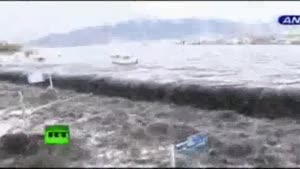 Footage Of The Tsunami In Japan