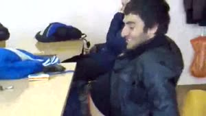 Russian Student Waves Gun Around In Class