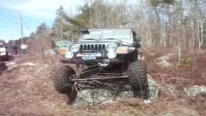 Jeep Off Road Fail
