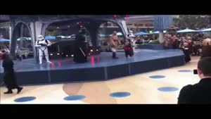 Little Girl Wants To Join Darth Vader