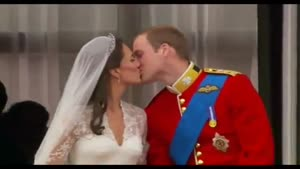 Kate And William's Kiss