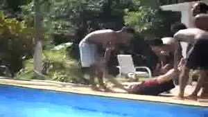 How You Should Never Throw Your Friend In The Pool