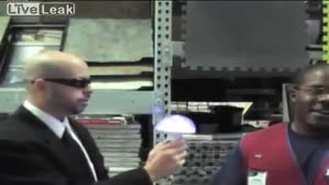 Men In Black Prank