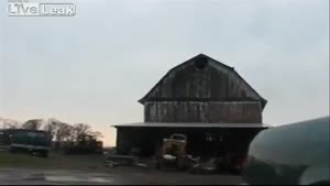 107-Year Old Barn Collapses