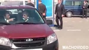 Putin Test Brand New Lada