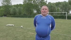 75-Year-Old Soccer Star From Holland