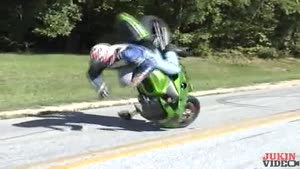 Stopping Motorbike Fail