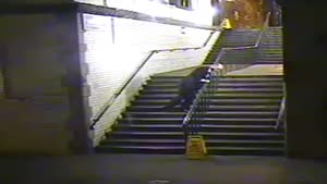 Drunk Man Vs Stairs