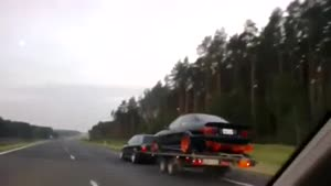 Dangerous Trailer Accident
