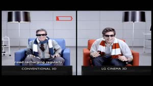 LG Cinema 3D TV Vs Conventional 3D TV