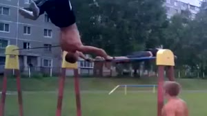 Horizontal Bar Show Off Fail