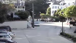 Hill Bombing In San Francisco