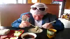 Grandma's Sushi Fight