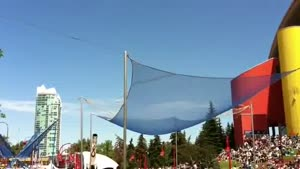 Human Cannonball Safety Net Fails