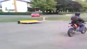Motorcycle Jump Fail