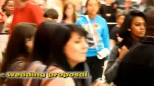 Flash Mob Wedding Proposal