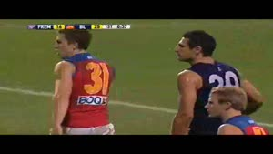 Matthew Pavlich Kicks A Brilliant Goal