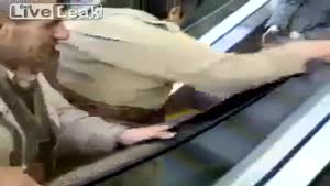 First Escalator In Iraq Confuses People