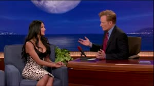 Nicole Scherzinger Busts Tv-Host For Staring
