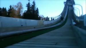 Ski Jumping Without Snow