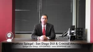San Diego DUI Attorney - DUI lawyer in San Diego