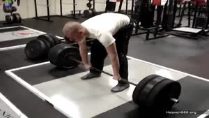 "Hence The Name ""Deadlift""..."
