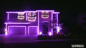Awesome Halloween Light Show