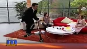 Bike Fail Airs Live On British Morning Show