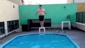 Not So Elegant Dive