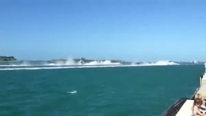 Powerboat Crash