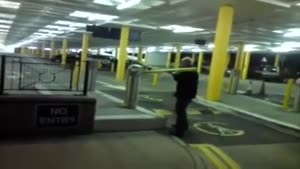 Stealing The Car Park Barrier