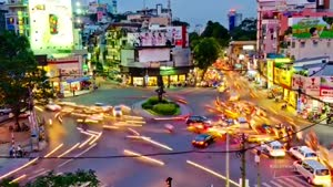 Beautiful Time Lapse Of Vietnam Traffic