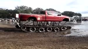 Monster Caterpillar Vehicle