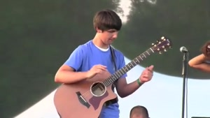 15 Year Old Kid Sure Knows How To Play Guitar