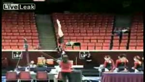 Unsecured Gymnasts Bar