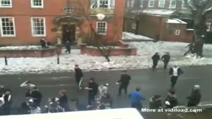 Snowball Fight Gone Wrong