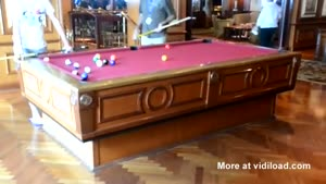 Pool Table Adapts To Waves