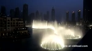 Dubai Honores Whitney Houston With Fountain Show