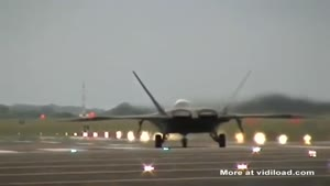 F-22 Raptor Vertical Take-Off