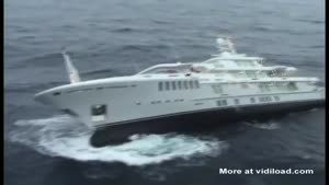 Brand New Yacht Sinking To Bottom Of Sea