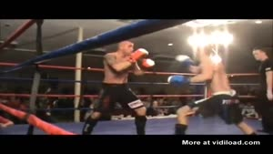 Fighter Knocks Himself Out