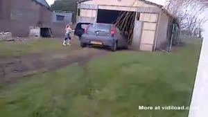 Little Girl Borrows Parents Car