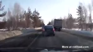 Driver Get's Lucky