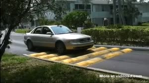 Most Ridiculous Speed Bump Ever