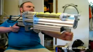 Insane Tennis Ball Cannon