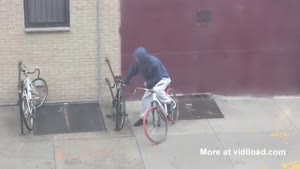 Stealing A Bicycle Can Be Very Difficult