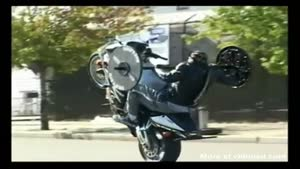 Motorcycle Workout Wheelie