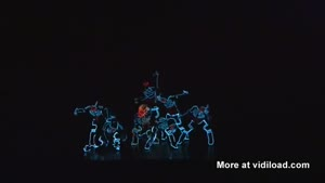 Amazing TRON Light Dance Show