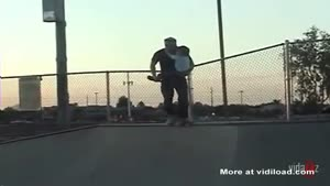 Dad Goes Skateboarding With His Son